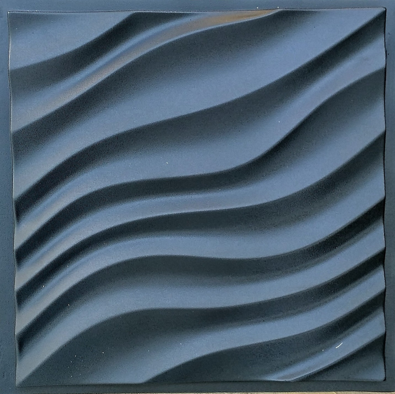 """Пластиковая форма для изготовления 3d панелей """"Дюна"""" 50*50 (форма для 3д панелей из абс пластика) - Форм-Мастер. Магазин форм для декора в Запорожской области"""