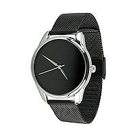 """Часы наручные """"Минимализм"""" (черный) + дополнительный ремешок, фото 1"""