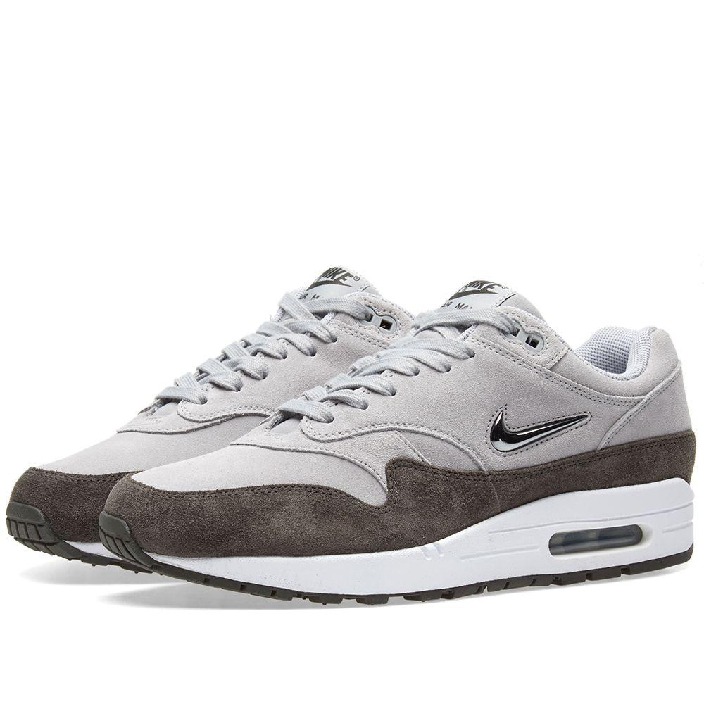 0a48be1453aa Оригинальные кроссовки Nike Air Max 1 Premium SC Wolf Grey - Sport-Sneakers  - Оригинальные