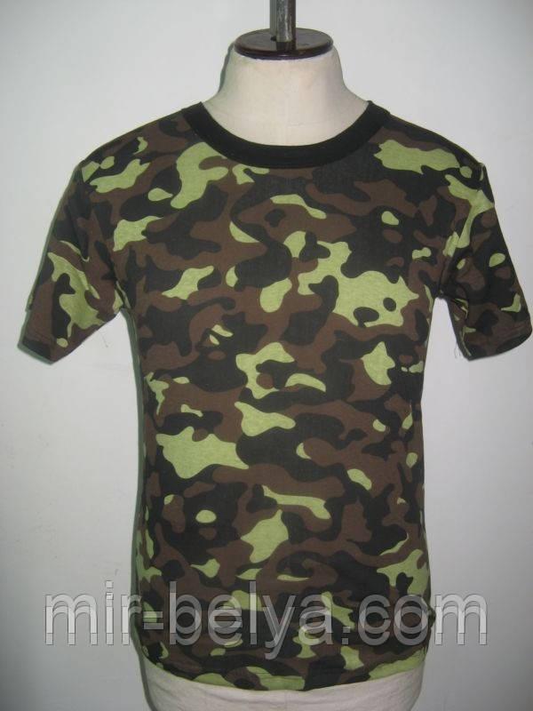 Чоловіча футболка камуфляж мілітарі хакі