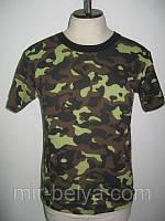 Мужская футболка камуфляж милитари хаки