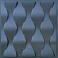 """Пластикова форма для виготовлення 3d панелей """"Ілюзія"""" 50*50 (форма для 3д панелей з абс пластику)"""