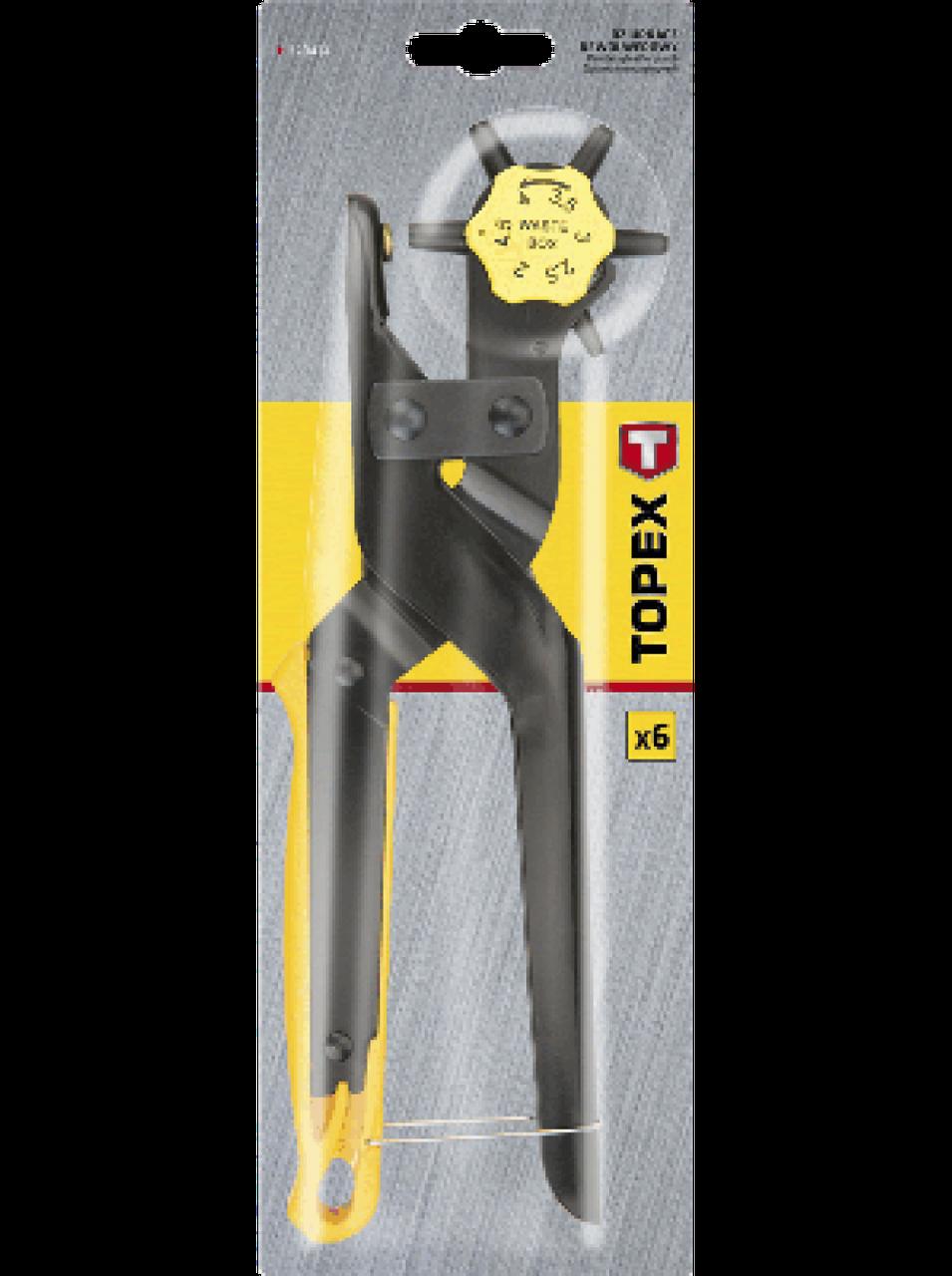 Револьверный пробойник для кожи  Topex 240 мм - Строительные, отделочные инструменты, крепежный, механический инструмент - NEO-TOPEX в Киеве