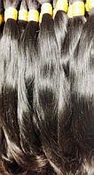 Натуральные неокрашенные волосы в срезе 60 см