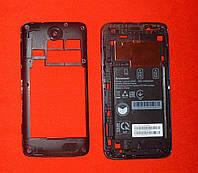 Корпус Lenovo A526 (средняя часть) темно-синий Original
