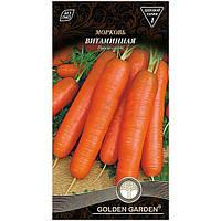 Семена Golden Garden Морковь Витаминная 2 г N10843080