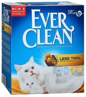 Ever Clean Less Trail Эвер Клин Меньше Следов наполнитель комкующийся для кошачьего туалета, 6л
