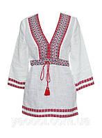 Блуза , сорочка, рубаха стильная в украинском деревенском стиле