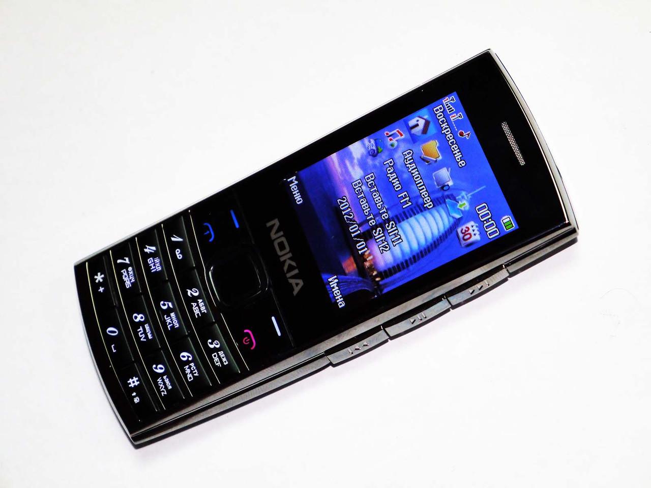 """Телефон Nokia X2-02  (копия) - 2Sim - 2.2"""" - FM-Bt-Cam - уникальный дизайн"""