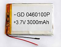 Литий-полимерный аккумулятор 3,7 Вольт 3000 мАч