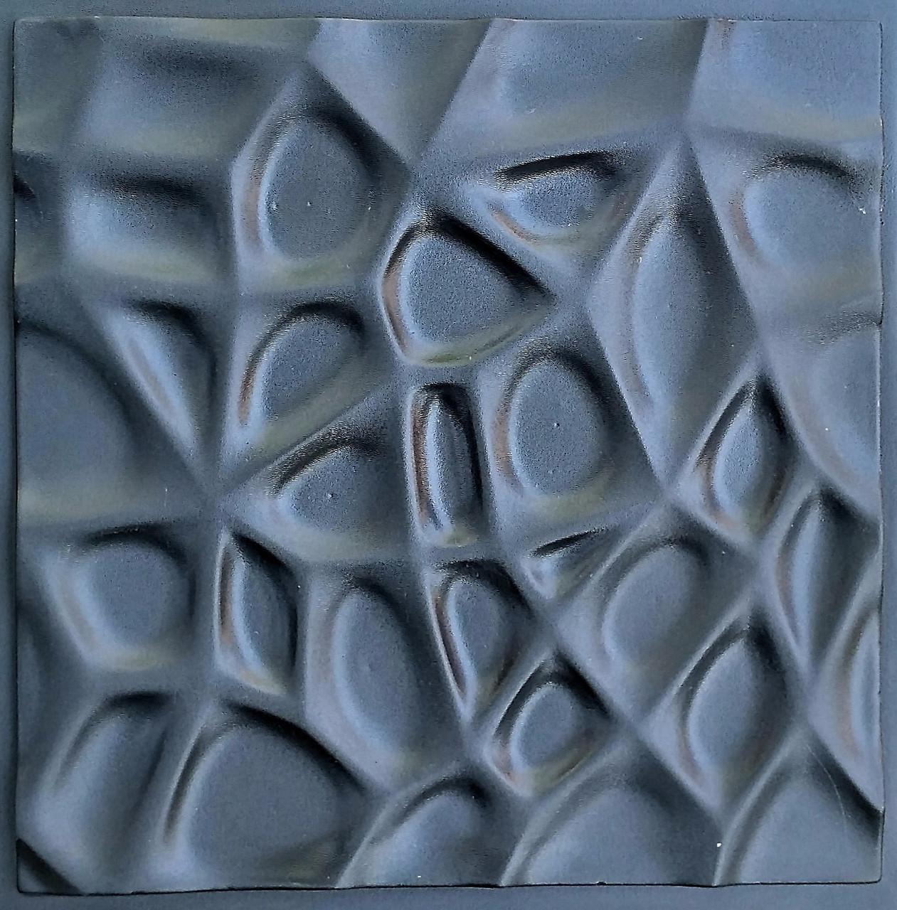 """Пластиковая форма для изготовления 3d панелей """"Паутина"""" 50*50 (форма для 3д панелей из абс пластика)"""