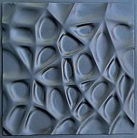 """Пластиковая форма для изготовления 3d панелей """"Паутина"""" 50*50 (форма для 3д панелей из абс пластика), фото 1"""