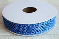 Кружево лента Сетка, разные цвета, 2 см, 20 м моток, фото 1