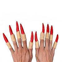 Пальцы ведьмы, длинные ногти  - оригинальный аксессуар для вашего образа!