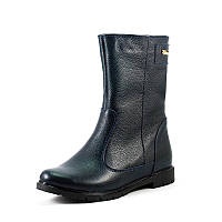 Ботинки зимние женские Vakardi V364 синяя кожа р. 36 37 38 39 40 41