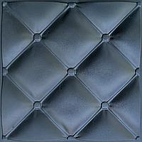 """Пластиковая форма для изготовления 3d панелей """"Ретро"""" 50*50 (форма для 3д панелей из абс пластика)"""