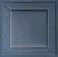 """Пластиковая форма для 3d панелей """"Филенка"""" 40*40 (форма для 3д панелей из абс пластика)"""