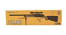 Игрушка Снайперская винтовка CYMA ZM51 металлическая, фото 3