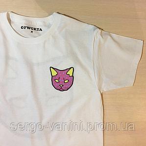 Odd Future donut shirt • Футболка белая с Котиком • Оригинальные фото