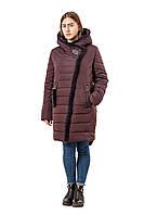 Женская зимняя куртка из плащевой ткани