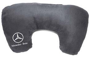 """Подушка рогалик """"Mercedes-Benz"""""""