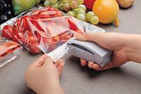 Запайщик пищевых пакетов настольный механический Super Sealer