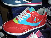 Кроссовки красные Размеры 36-41
