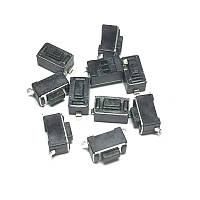 Кнопка тактовая 3.5 * 6 * 4.3 мм 2 pin DIP SMD микропереключатель телефон сигнализация брелок remote control T