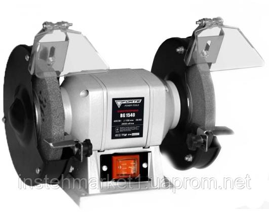 """Точильный станок Forte BG1540 (400 Вт, диск 150 мм) в интернет-магазине """"Инстехмаркет"""""""