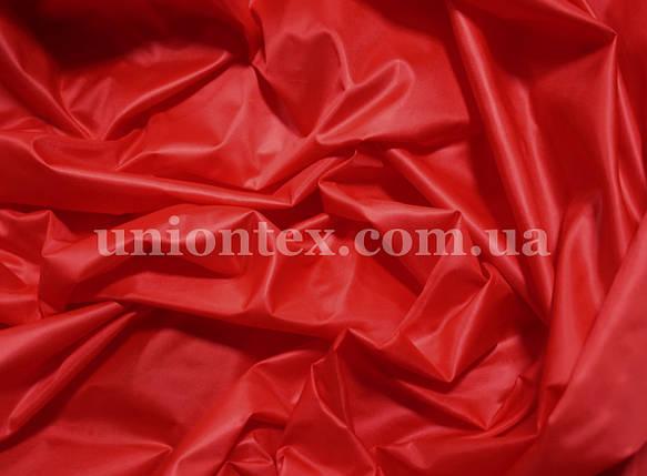 Плащевка лаке красная, фото 2