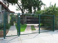 Ворота распашные металлические 4х1,5м