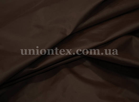 Плащевка лаке коричневая, фото 2
