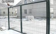 Изготовление распашных ворот 4х2м