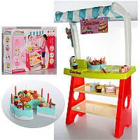 Игровой набор Мой Магазин Сладостей Cake Shop 889-13-14, прилавок,касса, сканер, продукты, 2 вида