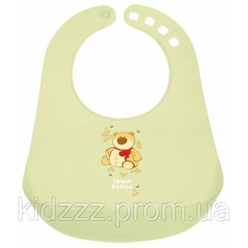 Пластиковый слюнявчик  Canpol Babies (Канпол)