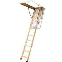 Лестница чердачная Fakro LWK-280 120x60 см с металлическими перилами N90210153