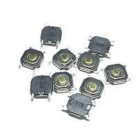 Кнопка тактовая 4 * 4 * 1.5 мм (5 * 5 * 1.5 мм ) 4pin DIP SMD микропереключатель телефон сигнализация брелок r