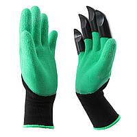 Садовые перчатки с когтями Garden Genie Gloves (Гарден Джени Гловес)