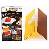 Солнцезащитный козырек для автомобиля visor hd vision, фото 6