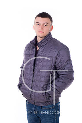 Куртка K&ML 24760 (Т. серый), фото 2