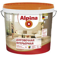 Краска Alpina Долговечная интерьерная B1 10 л N50101350