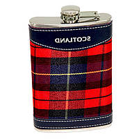 "Фляга для виски и скотча ""Scotland"" 10 унций A144-10B"
