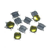Кнопка тактовая 4 * 4 * 0.8 мм 4pin DIP SMD микропереключатель телефон сигнализация брелок remote control Tact