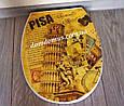 """Сиденье для унитаза с рисунком """"Pisa"""" Elif Plastik, Турция , фото 2"""