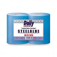 Салфетки протирочные в рулоне MAXI STEELBLUE (335)