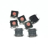 Кнопка тактовая 6 * 6 * 3.1 мм 4pin red SOP4 SMD микропереключатель телефон сигнализация брелок remote control
