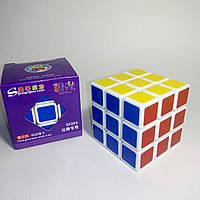 Головоломка кубик-Рубика 3х3 ShengShou Aurora White