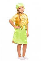 Карнавальный костюм Кукурузы на девочку 3-8 лет (Украина) купить оптом в Одессе на 7 км