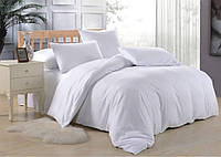 Европейское постельное белье Белое 200*220 хлопок