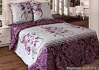 Двуспальное постельное белье Маркиза 180*220 хлопок